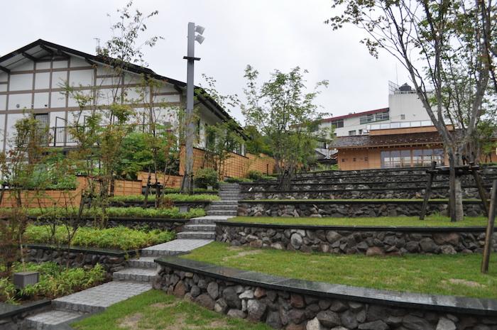 草津温泉の新名所「裏草津」が6月22日に竣工いたしました!